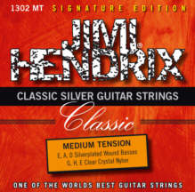 Classic Silver Guitar Strings